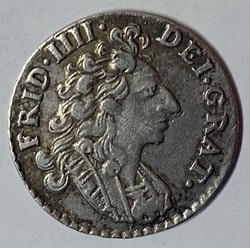 Fredrik IV, 8 Skilling, 1707