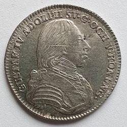 *Gustav IV Adolf, 1/6 Riksdaler 1803