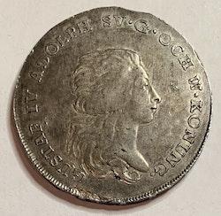 Gustav IV Adolf 1 Riksdaler 1795