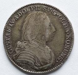 *Gustav IV Adolf, 1/6 Riksdaler 1808