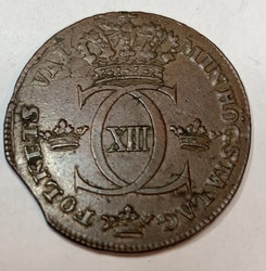 *Karl XIII, 1/2 Skilling 1815