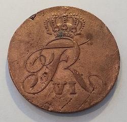 Fredrik VI 4 skilling Courant 1809