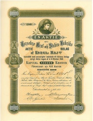 Torsebro Krut och Stubin Fabriks AB, 1 000 kr, 1875