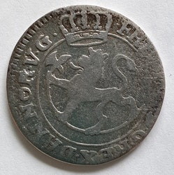 Fredrik IV, 8 Skilling, 1727