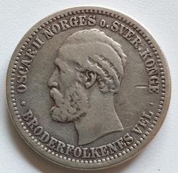 1875, Oskar II, 30 Skilling
