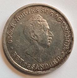 1845, Oskar I, 24 Skilling