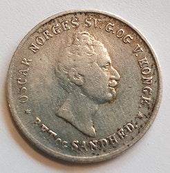 1847 Oskar I, 12 Skilling
