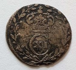 Karl XI 1 Öre 1666
