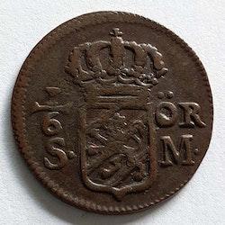 Karl XII 1/6 Öre 1718