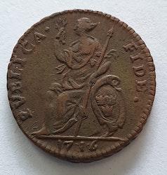 Karl XII 1 Daler Publica Fide