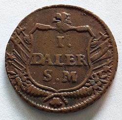 Karl XII 1 Daler Wett & Wapen