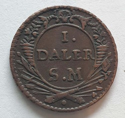 Karl XII 1 Daler Flink & Färdig