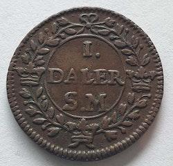 Karl XII 1 Daler Jupiter