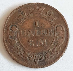 Karl XII 1 Daler Mars