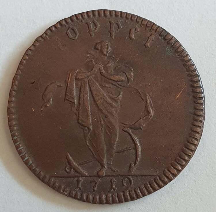 Karl XII 1 Daler Hoppet
