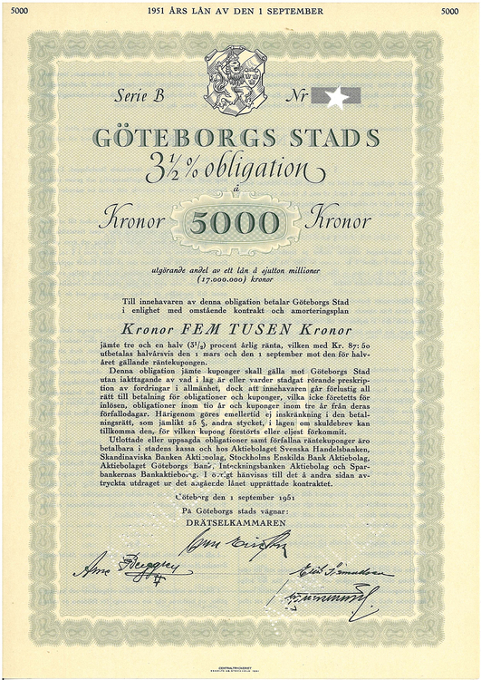 Göteborgs Stads AB, 3 1/2%