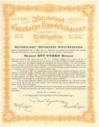 Göteborgs Hypotekskassas, AB 4%