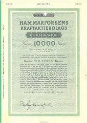 Hammarforsens Kraft AB, 6%, 10.000 kr