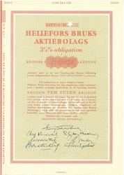 Hellefors Bruks AB, 3 1/4%, 5000 kr