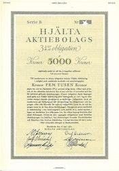 Hjälta AB, 3 1/4%, 5000 kr
