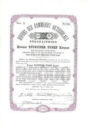 Hofors och Hammarby AB, 25.000 kr, Serie A