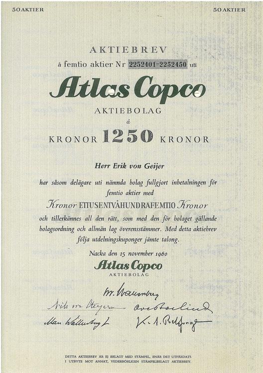 Atlas Copco AB