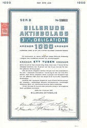 Billeruds AB, 3 1/2%