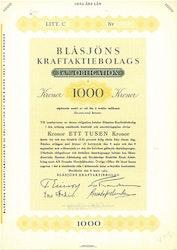 Blåsjöns Kraft AB, 3,6 %