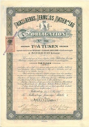 Falkenbergs Jernvägs AB 4 1/2 %