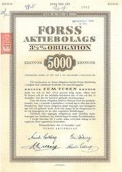 Forss AB, 3 1/2%, 5.000 kr