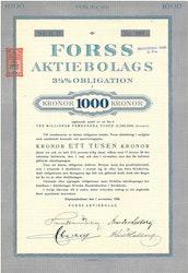 Forss AB, 3 1/2%, 1.000 kr