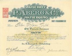 P.Åberg & Co. AB