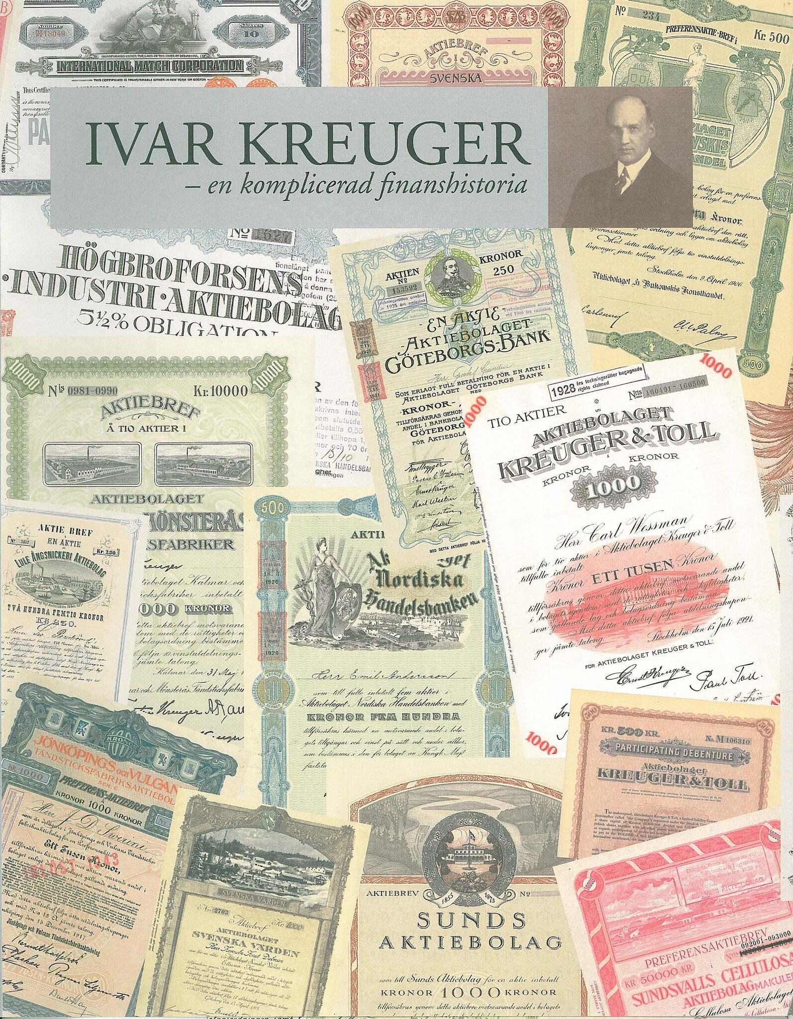 Ivar Kreuger - En Komplicerad Finanshistoria Bok