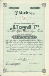 Dampskibs AS Lloyd I