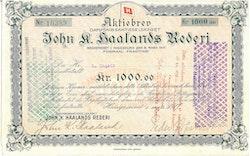 Johan K. Haalands Rederi AS