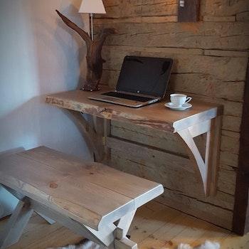 Skrivbord - nedfällbart