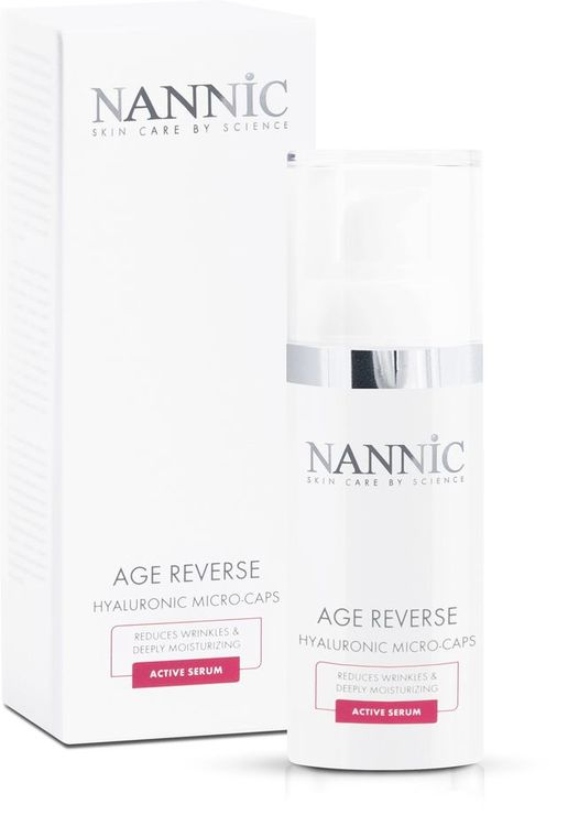 AGE REVERSE - hyaluronic microcaps