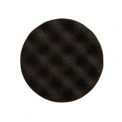 Polerrondell svart W HP 160x25