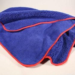 Microduk Soft Blå/Röd 90x60 cm (10-pack)