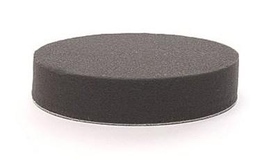 Polerrondell svart HP 180x25