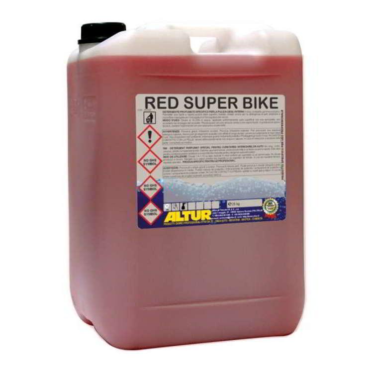 RED SUPER BIKE 25kg