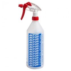 Empty spray bottle, refillable 1000ml.