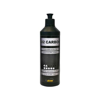 A02 CARBON POLISH NERO LUCIDANTE black finishing polish 500ml