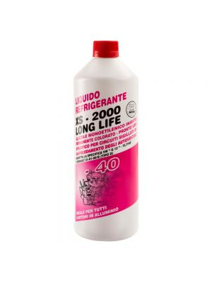 ANTIFREEZE XS2000 G12 ROSSO -40°C / red 25kg