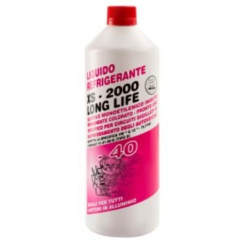 ANTIFREEZE XS2000 G12 ROSSO -40°C / red 1kg