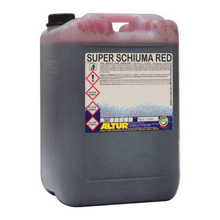 SUPER SCHIUMA COLOR red, yellow, green, blue 25kg