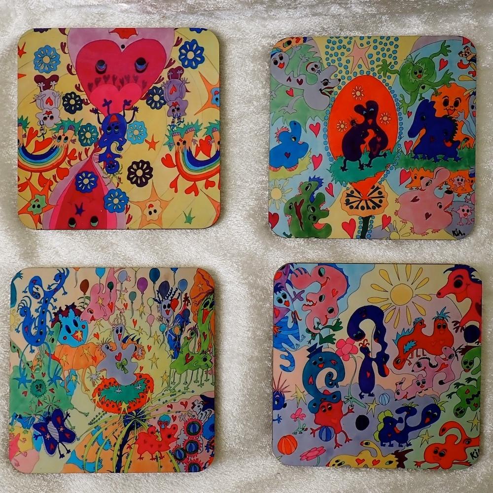 Coasters - Crumelurs