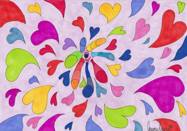 Print Heartfelt Colours