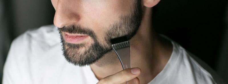 Färga skägget