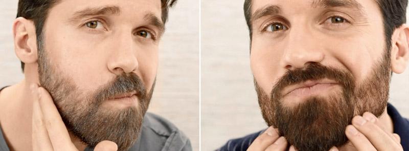 Färga skägg och hår för en fräschare look!